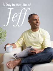 A Day in the Life of Jeff (a Man)