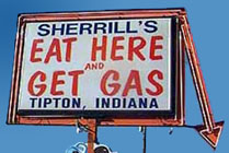 Funny Sign-Gas