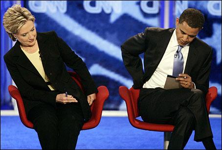 Barak and Hillary