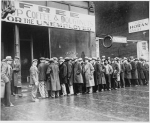 800px-Unemployed_men_queued_outside_a_depression_soup_kitchen_opened_in_Chicago_by_Al_Capone,_02-1931_-_NARA_-_541927