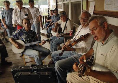 2007 Appalachian String Band Festival at Camp Washington-Carver, Clifftop WV